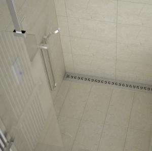 Canaleta de ducha para ducha de obra